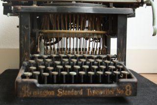 Antique Typewriter Scarce Remm.  No.  8 Schreibmaschine photo