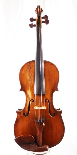 Antique 100 Year Old 4/4 Violin From Italy (fiddle,  Geige) photo