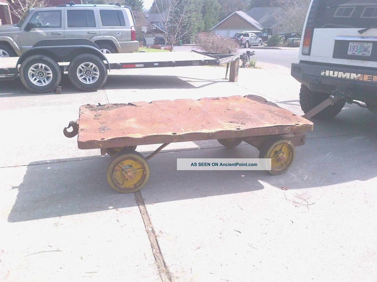 Vintage Railroad Or Airport Cart Other photo