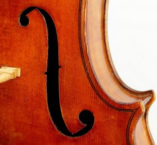 Outstanding American Viola By Janos Bodor,  Philadelphia,  Pa photo