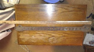 Antique Cast Iron Sink Bracket - Large Standard Wall Mounted Sink Bracket 28 1/4