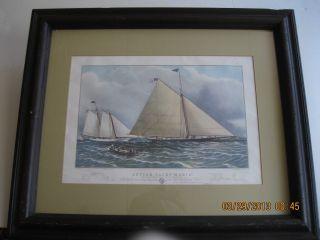 Yacht Maria Print photo