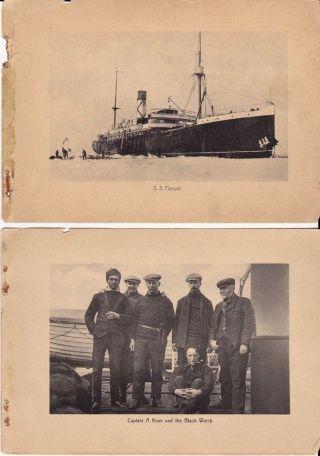 Ayer & Sons Souvenir Album,  Ss Forizel,  Newfoundland photo