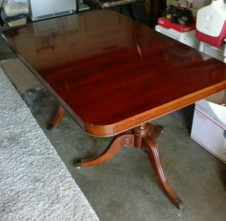 Mahogany Antique Traditional Duncan Phy