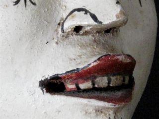 Vintage Indonesian Death / Dance Mask - Shiva Bali. . .  Circa 1950 ' S / 60 ' S. . . . photo
