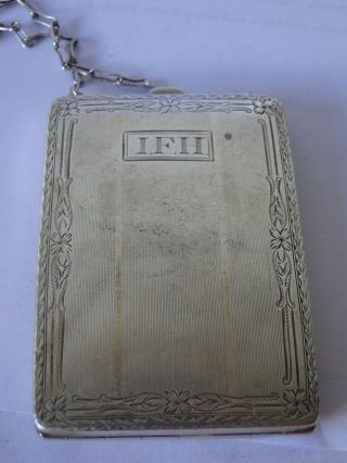 Sterling Silver All In 1,  Sovereign Holder,  Card Case,  American 1880,  Marked photo