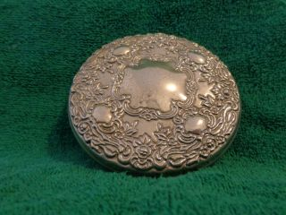 Vintage Silverplate Hand Mirror photo