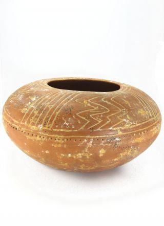 Across The Puddle Pre - Columbian San Agustin Calambuco Water Jar Reproduction photo