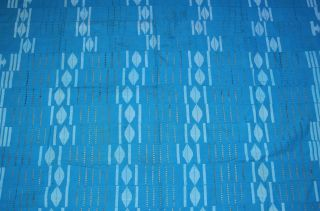 African Aso Oke Cloth Fabric Handmade By Tribal Yoruba People - Nigeria photo