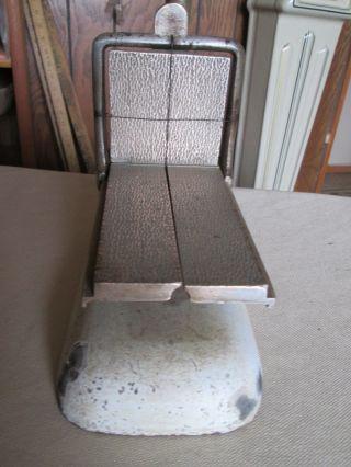 Antique Early 1900 ' S Elgin Cast Iron / Brass 1/4 Lb.  Stick Butter Cutter photo