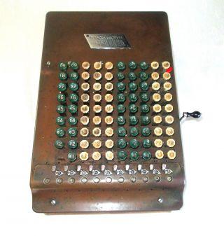 Comptometer - Model J 1926.  Works photo