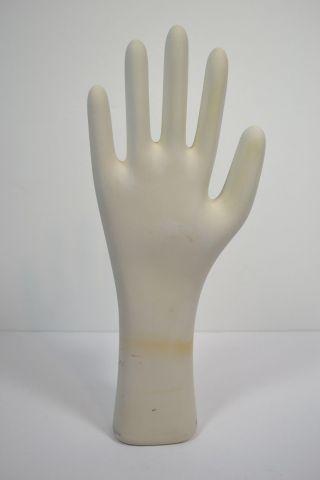 Industrial Porcelain Glove Mold 2x Large General Manniquin Hand Trenton Nj photo