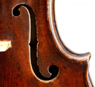 Outstanding Antique 18th Century Violin By George Kloz Mittenwald 1753 photo