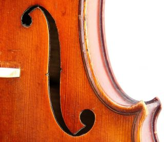 Excellent Antique German Violin,  Ernst Heinrich Roth,  Stradivarius Model,  1928 photo