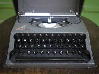 Vintage Hermes Baby Typewriter photo