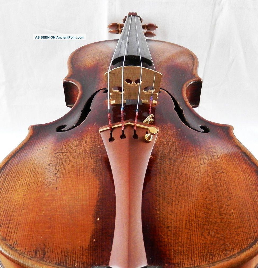 Antique Francesco Ruggeri Anno 1675 Labeled 4/4 Old Violin (fiddle ...