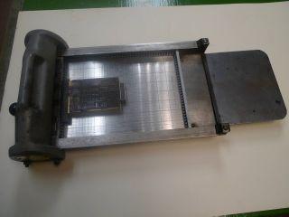 Vintage Letterpress Printing Proof Press,  Vandercook Showcard 7
