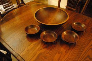 Vermont Wooden Bowl Set photo