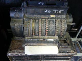 Antique National Cash Register photo