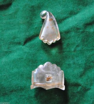 Antique Ottoman Mughal Crystal Khanjar Chape Locket Scabbard Parts No Jade Qing photo