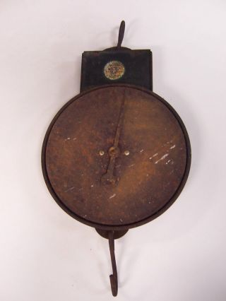Old Hanson Scale Company Scale Hanging Style With Hook photo