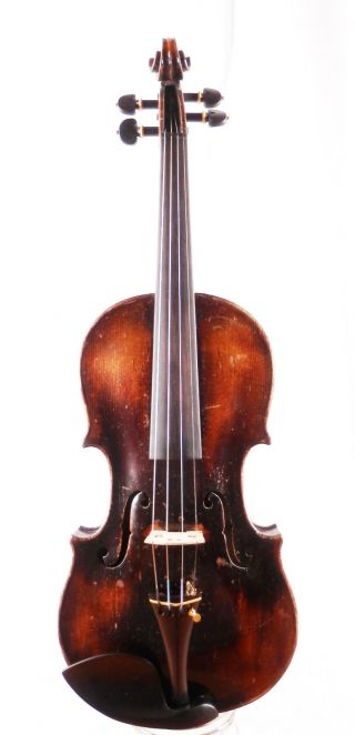 Antique Simon Kriner Anno 1820 Labeled 4/4 Old Master Violin (fiddle,  Geige) photo