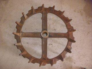 Brillion Packer Industrial Wheel For Decorative Decor Steampunk photo