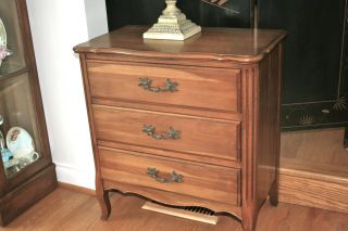 Cherry Accent Chest Of Drawers photo