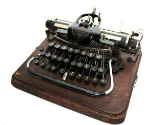 Antique Blickensderfer 7 Portable Typewriter photo