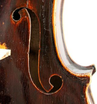 Very Good Antique Czech Violin By Jan Podesva,  Brno C.  1920 Ready To Play photo