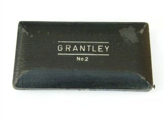 Vintage - Grantley No.  2 - Seven Piece Steel Geometry Set In Orig Box - C1920 ' S photo