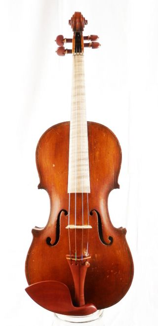 Antique 100 Year Old 4/4 Italian Or German School Violin (fiddle,  Geige) photo