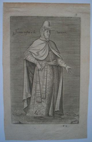 Femme Vestve A La Svrienne - Nicolas De Nicolay - 1612 photo
