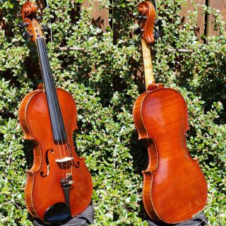 Fine Antique Czech Violin By Ladislav F.  Prokop,  Chrudim,  1929.  Powerful Tone photo
