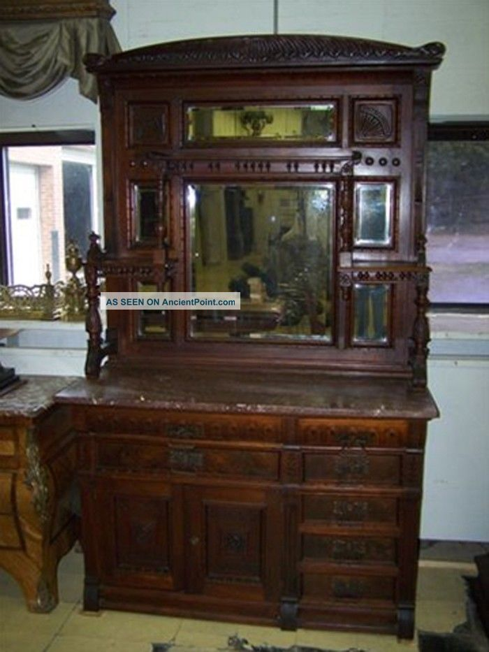 French antique buffet sideboards hutches servers