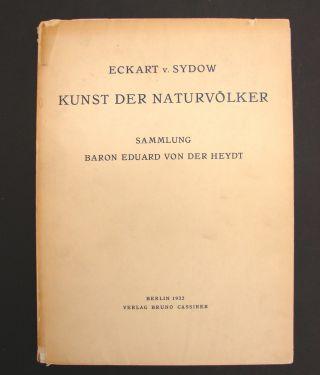 Rare German 1932 Kunst Der Naturvolker Sammlung Von Der Heydt Afrika Ozeanien photo
