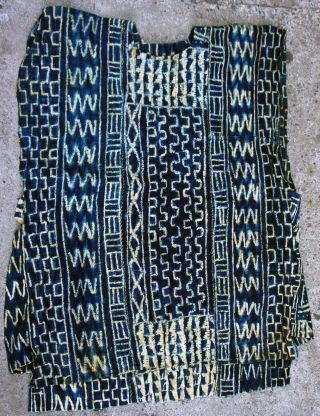 Museum Quality Textile Clothing Dance Ndop Blue Indigo Costume Cameroon Ethnix photo