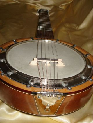 Guitar Banjo Ca.  1960 photo
