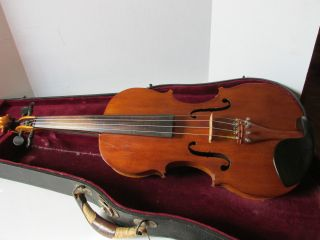 Antique Violin Copy Antonious Stradivarious Cremona Slingland ' S Music School photo