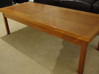 Scandinavian Teak Coffee Table photo