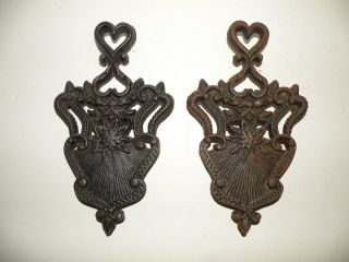 Of 2,  Cast Iron Trivets, photo