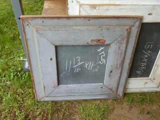 C1920 Vintage Schoolhouse Slate Chalkboard Repurposed W Salvaged Wood Frame 22