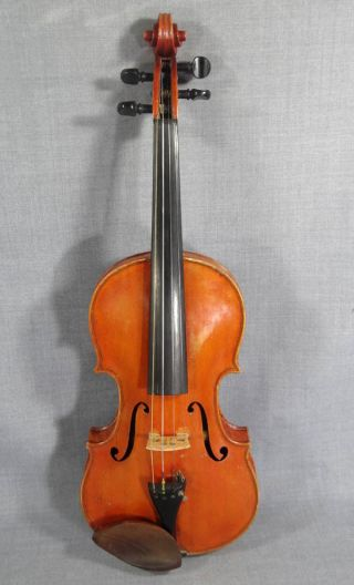 Antique German Guarneri 4/4 Soloist Master Violin Fiddle Rosewood Tiger Back Rar photo