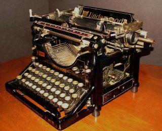 Vintage 1923 Underwood Standard Typewriter No.  5 Made In Usa Madison Wi Vendor photo