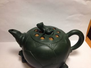 Chinese Frog Zisha Teapot photo