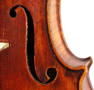 Excellent Antique German Violin,  Ernst Heinrich Roth,  Stradivarius M