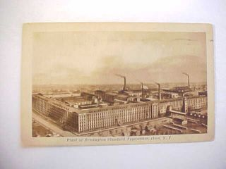 1927 Postcard View Of Remington Standard Typewriter Factory Ilion New York Vg+ photo