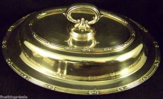 English Sheffield Silver Covered Entree Dish Tureen Set View Our Finethings4sale photo