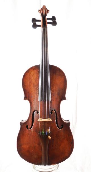 Domenico Geroni Old Italian Master Violin Labeled Antique 4/4 - (fiddle,  Geige) photo