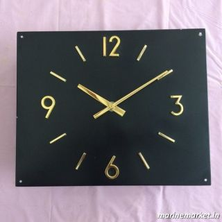 Citizen Slave Clock With Brass Numbers And Hands Made In Japan photo